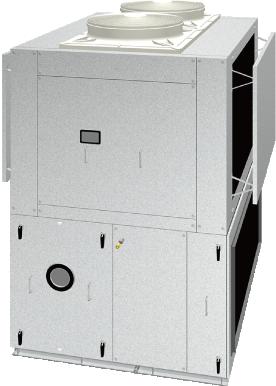立形ルーフトップ外調機&空調機