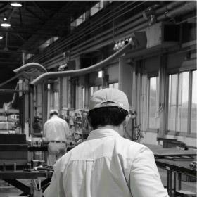 冷温水式工場用ゾーン空調機 CRV2型 結露防止パンカー・フレキダクト付