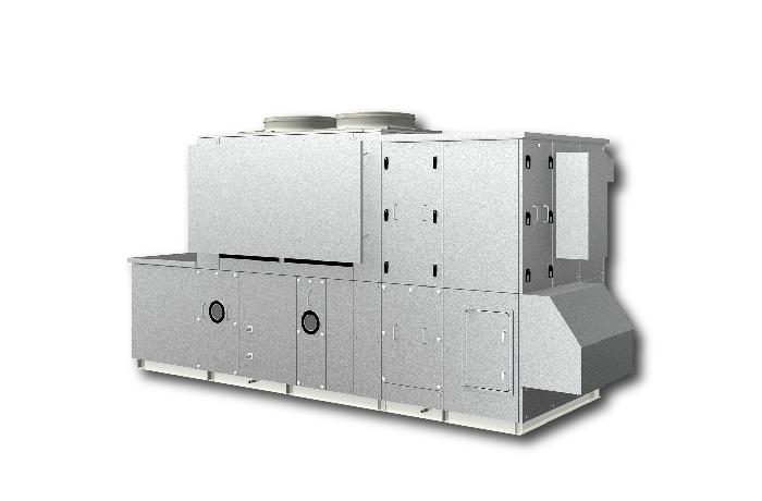 恒温恒湿用 ツインサイクル形外調機