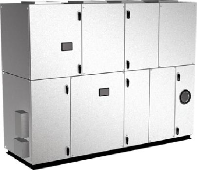 空冷HP式熱回収外調機