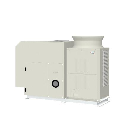 空冷HP式オールフレッシュ外調機