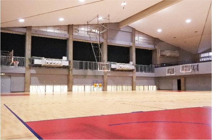 慶應義塾志木高等学校様 体育館兼講堂