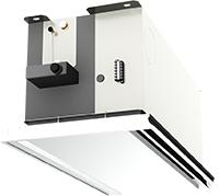 中温熱媒対応 標準/大温度差仕様 システム天井用カセット形 KCZ-600S