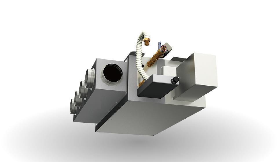 高性能ファンコイルHSZ-a型