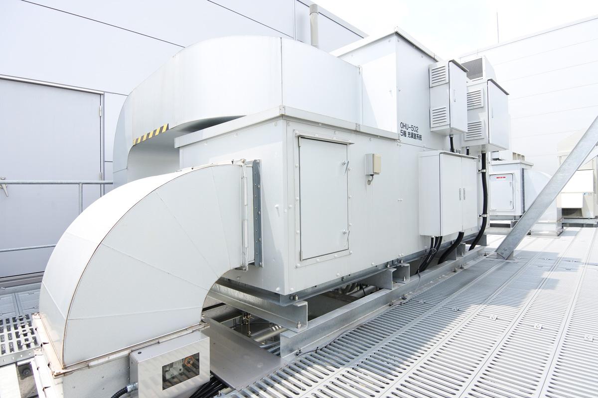 産業空調用ツインサイクル形低温外調機