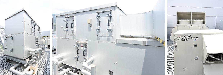 ツインサイクル形低温外調機