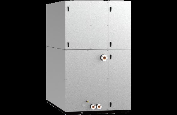 データセンター用 中温冷水式外気冷房空調機
