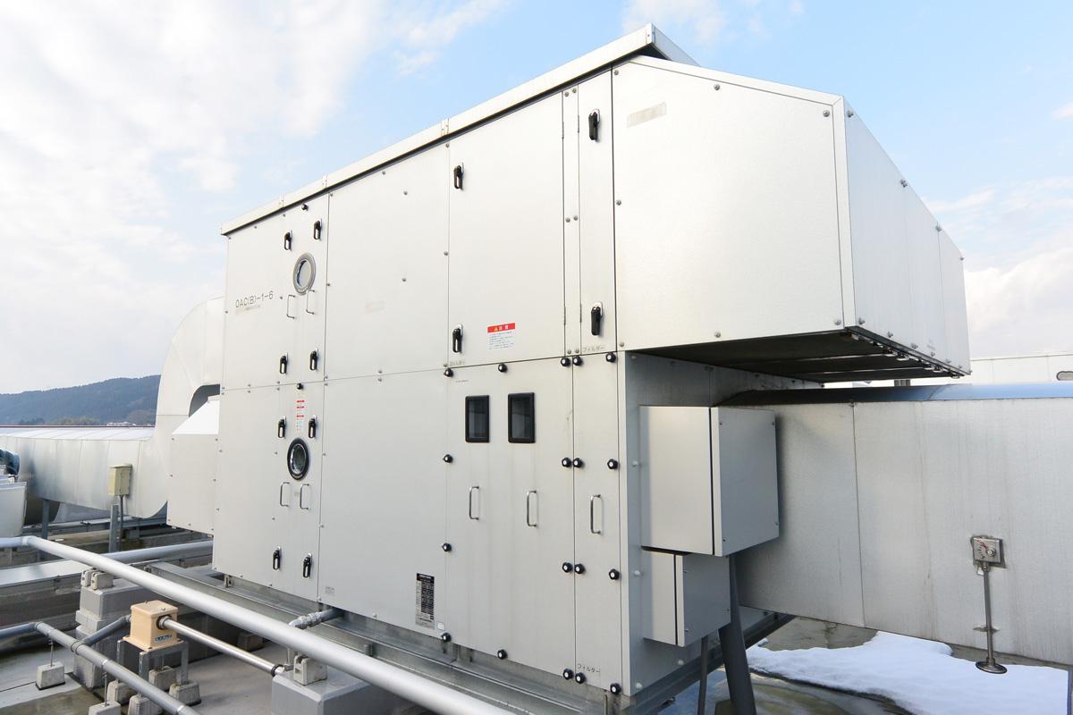 熱回収外調機BSD型
