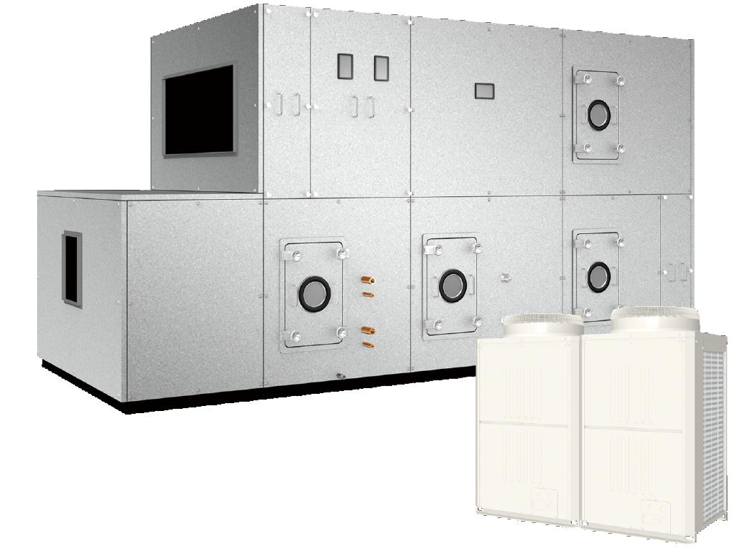 空冷HP式熱回収外調機 寒冷地仕様