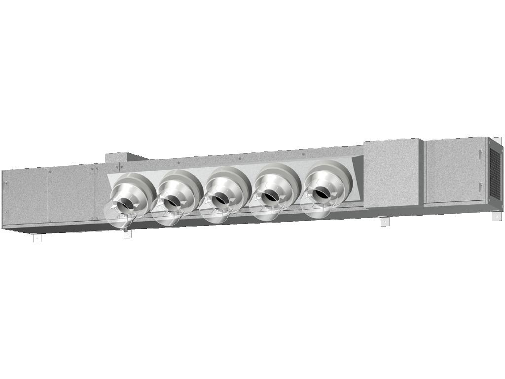 冷温水式/空冷直膨式 工場用ゾーン空調機