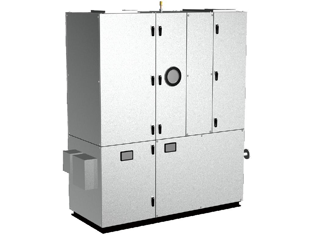 水冷HP式空調機&外調機