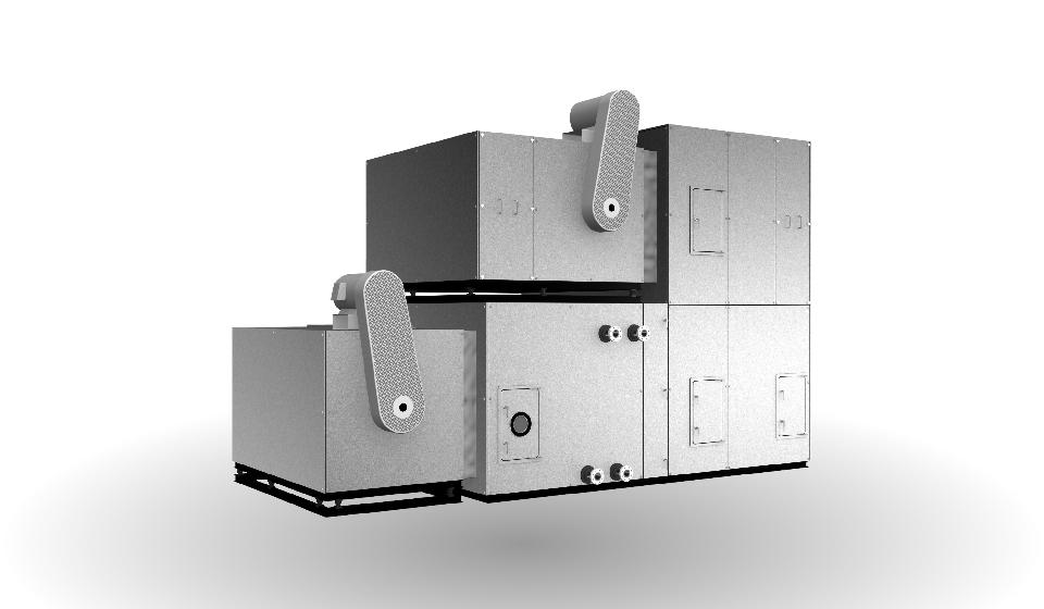 エアハン システム形AC2-BZ型