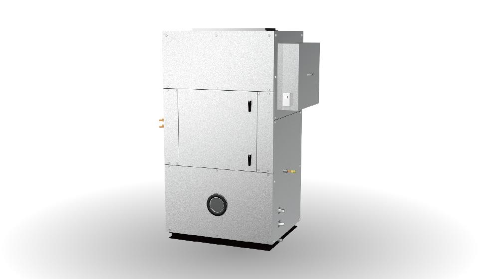 空冷直膨式高性能外気混合空調機SHV型