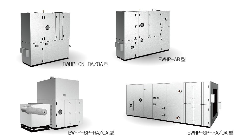 水冷HP式 ハイブリッド空調機&外調機(受注対応品)
