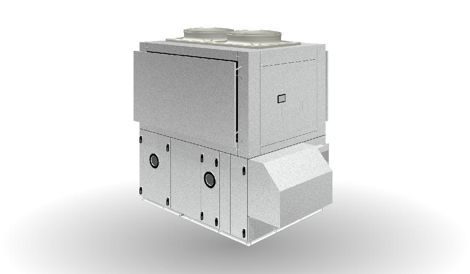 ツインサイクル形外調機 AFL-RFT型