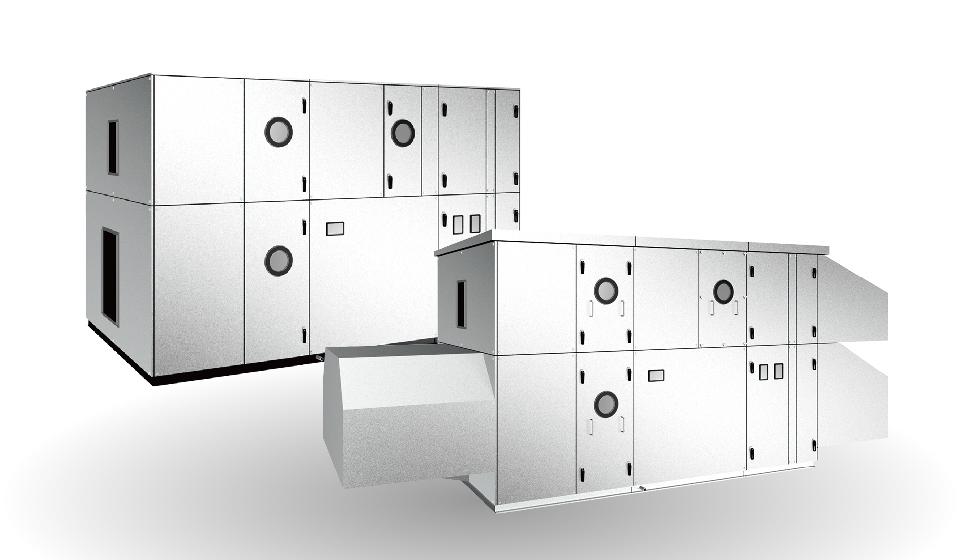 ツインサイクル形外調機 AFL-DK/AD型