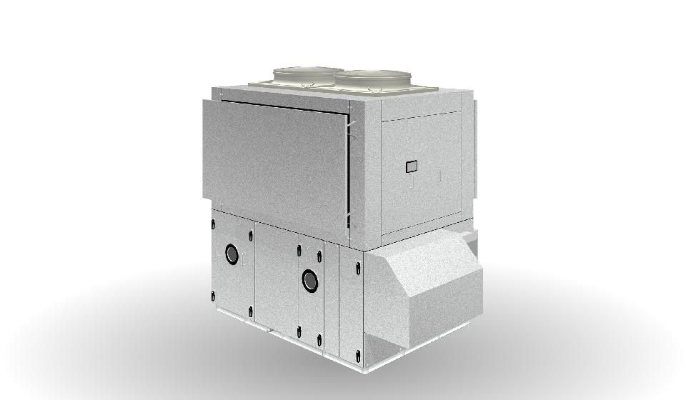 ツインサイクル形外調機 AFN-RFT型