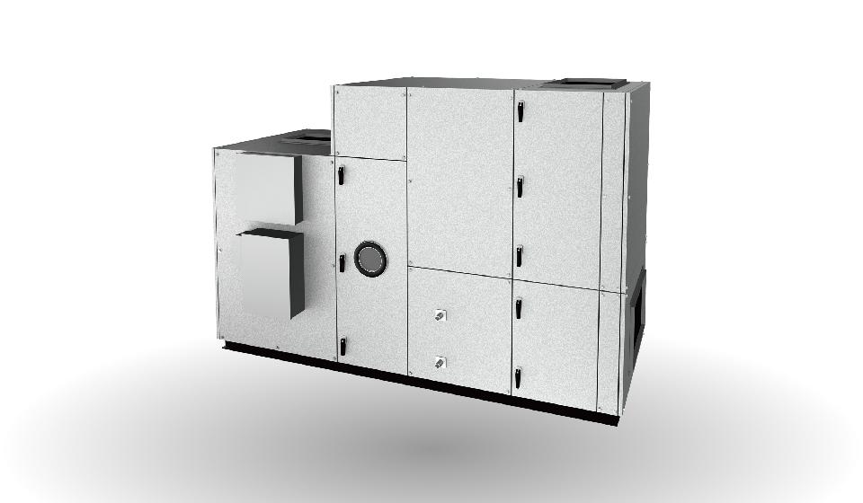 エア・コンビ床置形 積層PV型