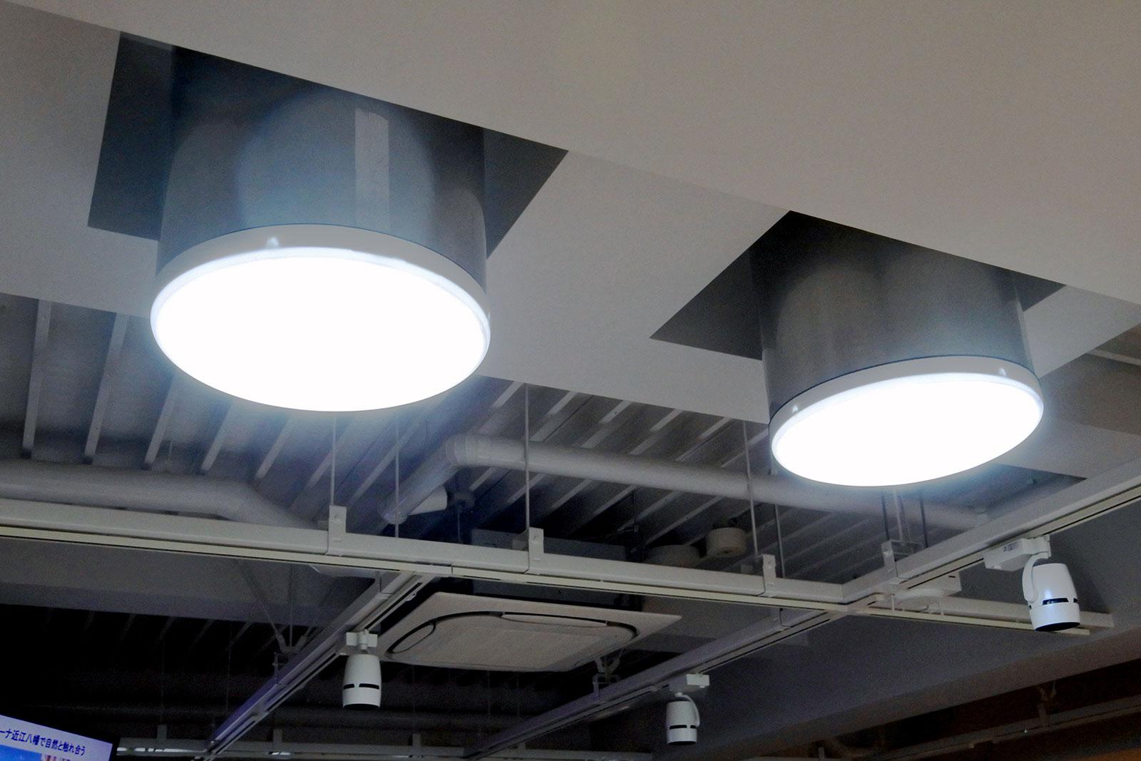 太陽光を室内に届ける光ダクト