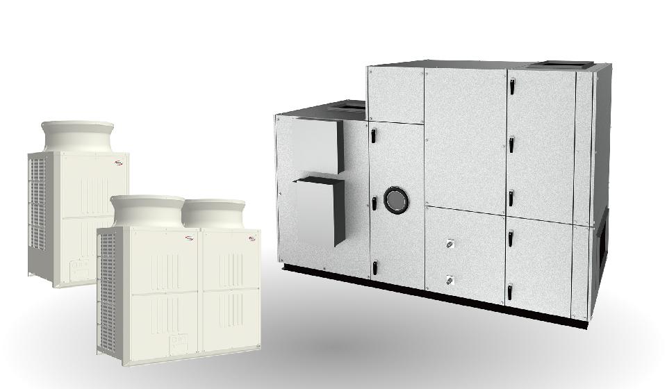 エア・コンビ床置形 積層PV-DD/DS型