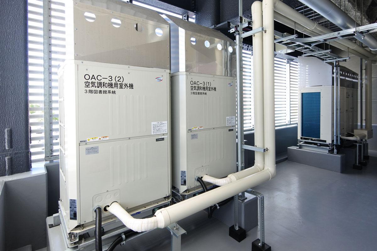 直膨式空冷室外機