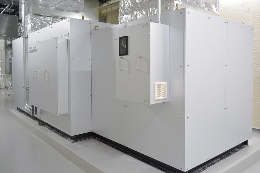 能楽堂系統 外気混合空調機