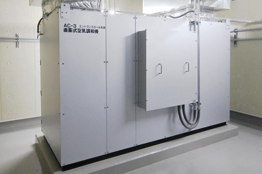 エントランスホール系統 外調機(コンパクト形)