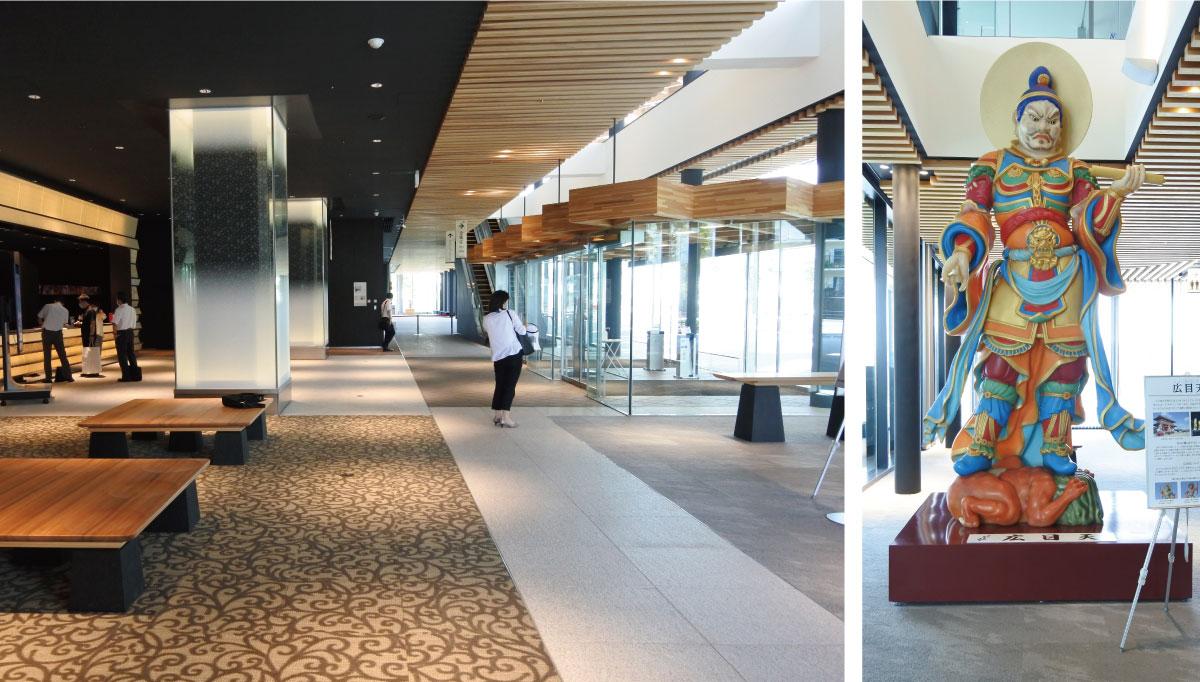 奈良県コンベンションセンター エントランスホール